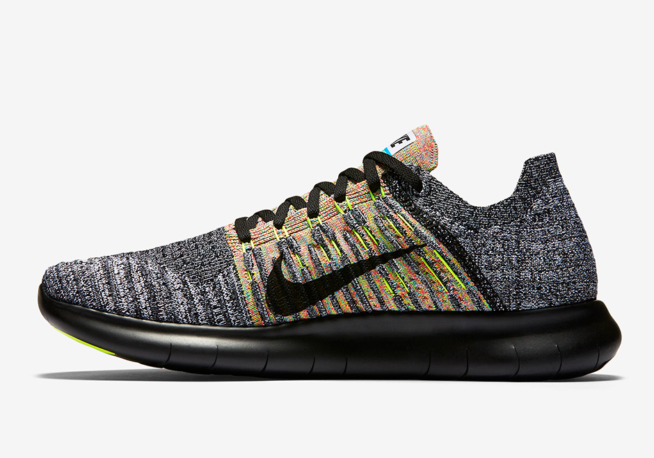 Ventana mundial seguridad Supervisar  Nike Free RN Flyknit Multi-Color 831069-004 | SneakerNews.com