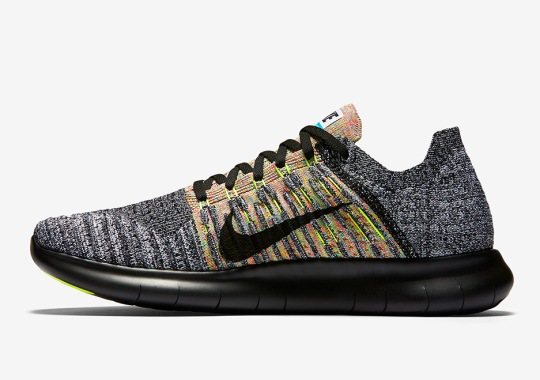 46e1851d3af9 Hints Of Multi-Color In The New Nike Free RN Flyknit
