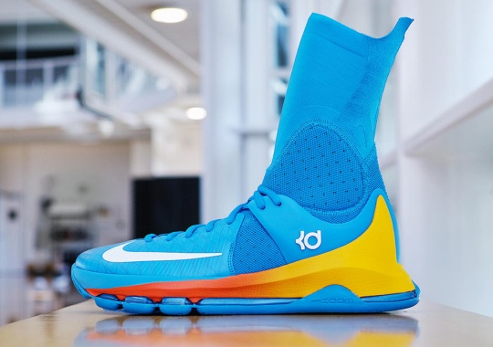 Kevin Durant Looks To Squash The Spurs In New Nike KD 8 Elite PE