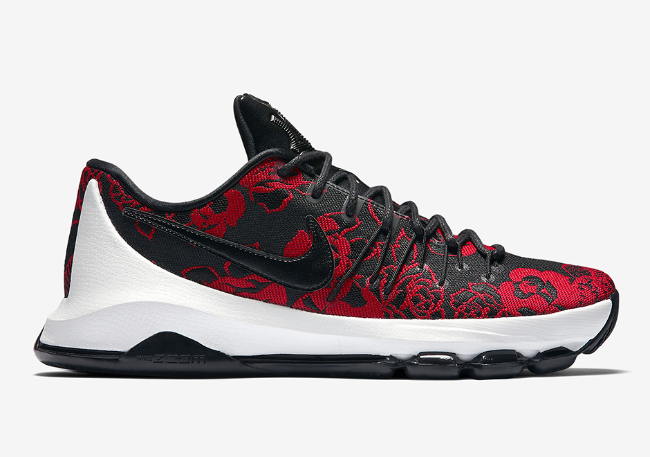Nike KD 8 EXT Red Floral 806393-004 | SneakerNews.com