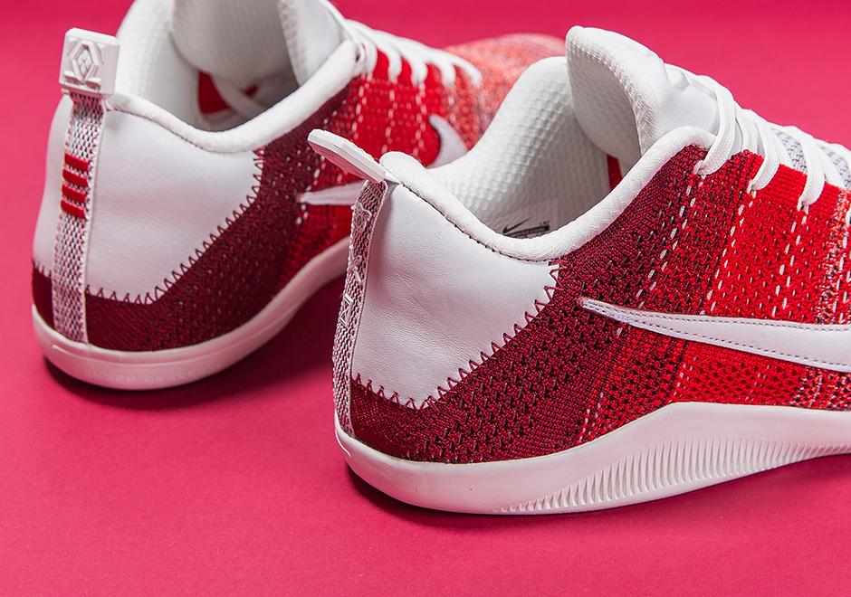 "premium selection 6fc76 8eba7 Nike Kobe 11 Elite 4KB ""Red Horse"""