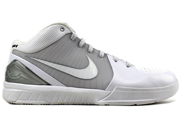 ... silver colorway seen here. Enjoy a look at the extremely rare Kobe IV's,  and if you're the ultimate Kobe fan, you can pick these up now from Index  PDX.