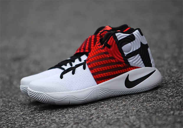 super popular 4385c 9fb7a promo code kyrie 2 white and red nike c8665 3c7fd