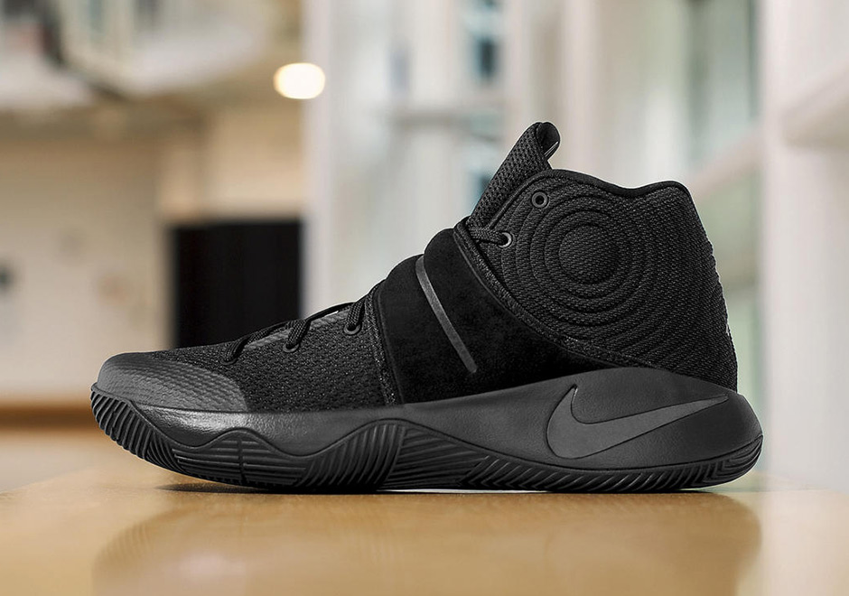 huge selection of a9706 ff183 Kyrie 2 Triple Black Release Info | SneakerNews.com