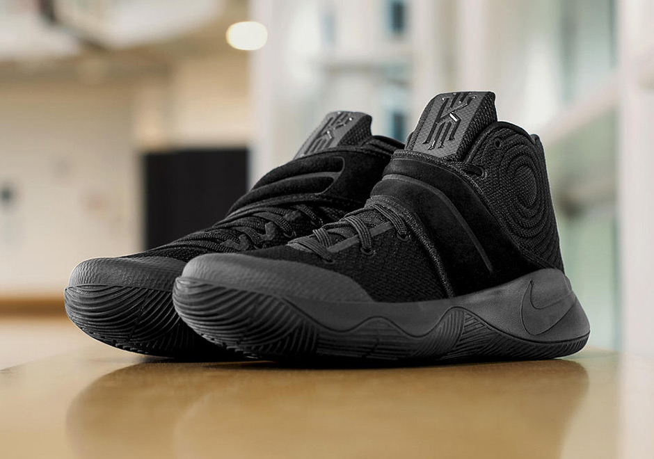 pretty nice f578f 11a5a Kyrie 2 Triple Black Release Info   SneakerNews.com
