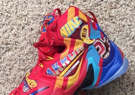 This Insane Nike LeBron 13 May Never Release