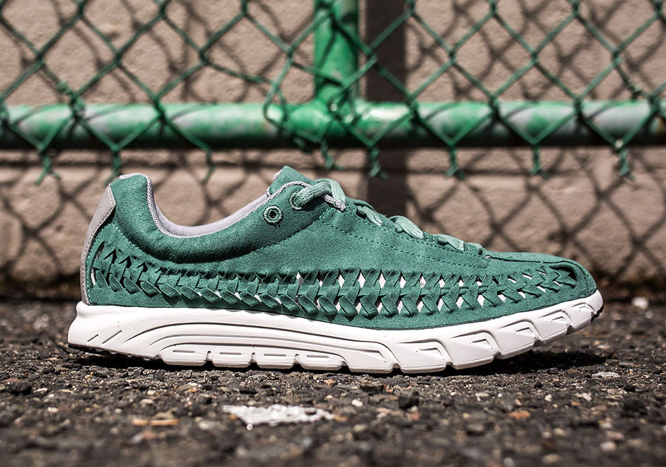 timeless design 00c3a 9544b Nike Mayfly Woven quotJade Glazequot durable modeling