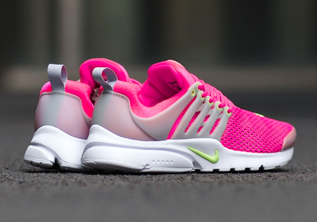 a09621cdd43b Nike Presto Breeze GS. Color  Hyper Pink Ghost Green White