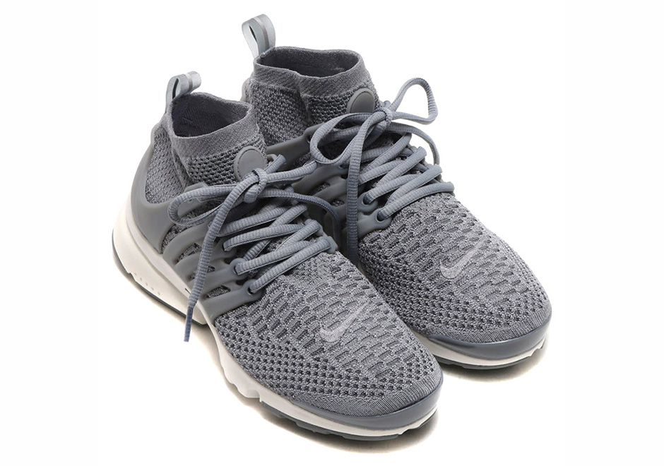 Nike Flyknit Presto Quot Sprite Quot And Quot Cool Grey Quot Sneakernews Com