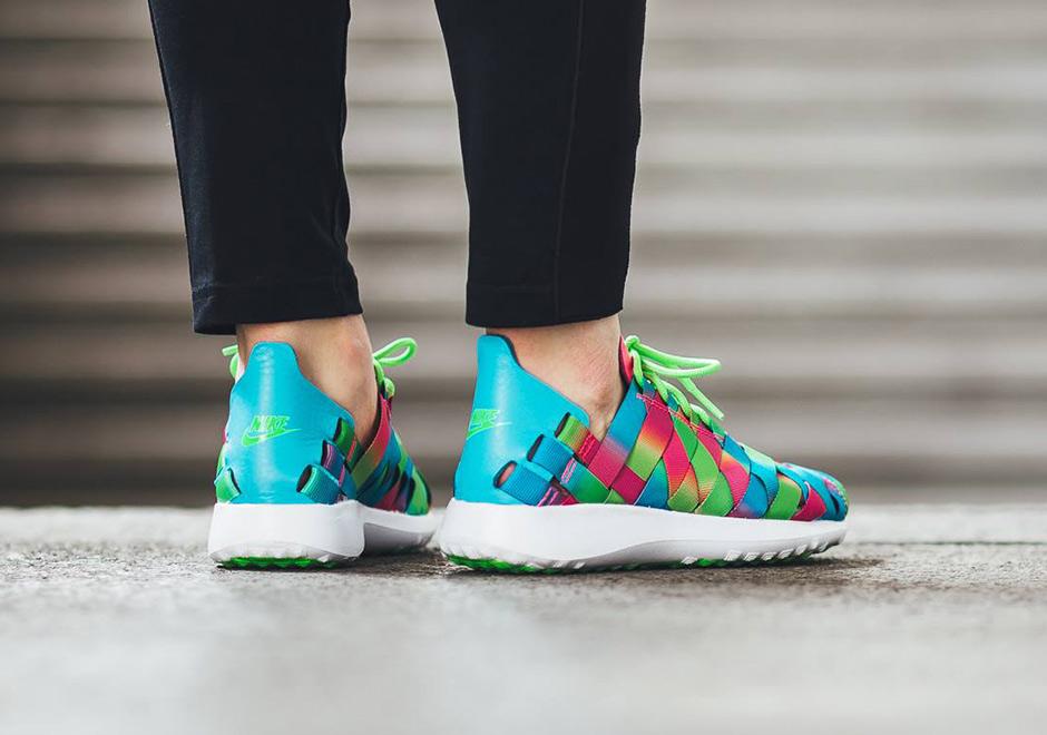 84b0037099916 Nike WMNS Juvenate Woven Premium Rainbow