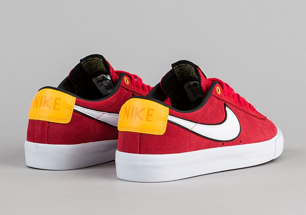 new styles a2cf9 9f980 Nike Blazer Low GT University Red   SneakerNews.com