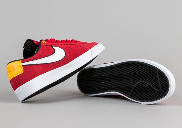 Chaqueta De Plaquetas Blanco Rojo Bajo Nike Sb lNeM1aiRr