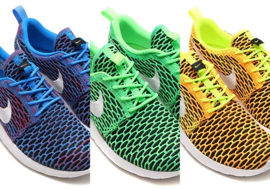 The Nike Flyknit Roshe Run Releasing In More Exciting Colorways This Summer
