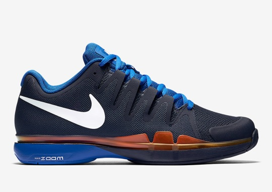 low priced 5fb38 a77db Roger Federer Has New Nike Shoes For The 2016 French Open