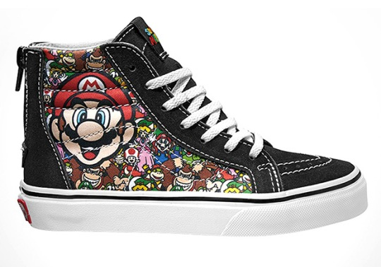 Nintendo and Vans Create Must-Have Sneakers For Gamers