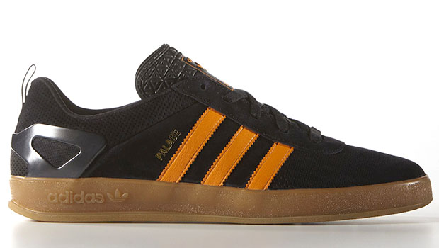 cce152d04004 ... with orange accents and a gum sole. The latest Palace x adidas  collection drops this Saturday