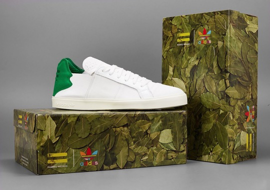 A Closer Look At The adidas Elastic Slip On Shoes Designed By Pharrell