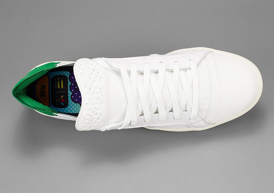 d0a15d35199e Pharell adidas Elastic Slip-On Lace-Up