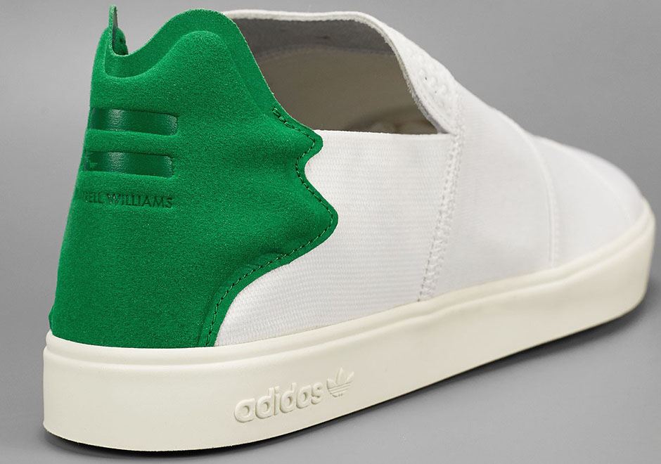 info for dbbb9 3376b Pharell adidas Elastic Slip-On Lace-Up  SneakerNews.com