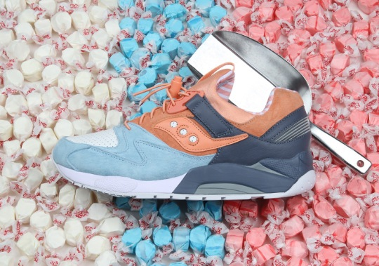 Premier's Latest Saucony Collaboration Is A Sweet Take On The Grid 9000