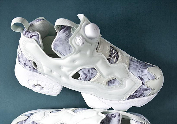 Summer Floral Prints Appear On The Reebok Instapump Fury