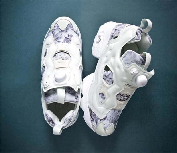 the best attitude 6933d fa146 Summer Floral Prints Appear On The Reebok Instapump Fury 80%OFF