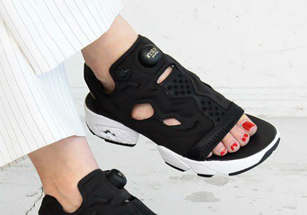 eaf11479975 Beauty   Youth Tranforms The Reebok Instapump Fury Into A Slipper
