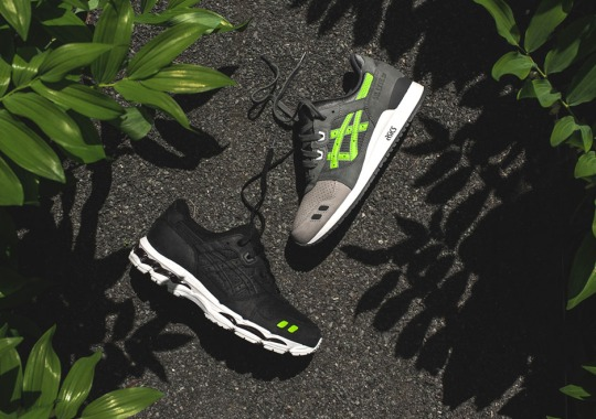 "Full Release Details For The Ronnie Fieg x ASICS GEL-Lyte III and 3.1 ""Super Green"" Collection"