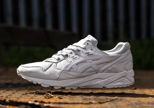 Size? And ASICS Present The GEL-Kayano In White Italian Leather