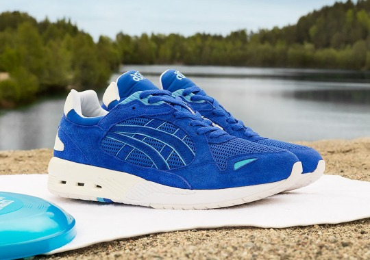 Sneakersnstuff Hits the Beach With Their Latest ASICS collab