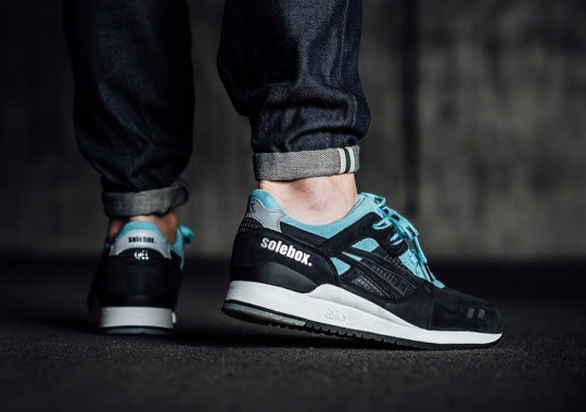 """The Solebox x ASICS GEL-Lyte III """"Blue Carpenter Bee"""" Releases This Weekend At Select Stores"""