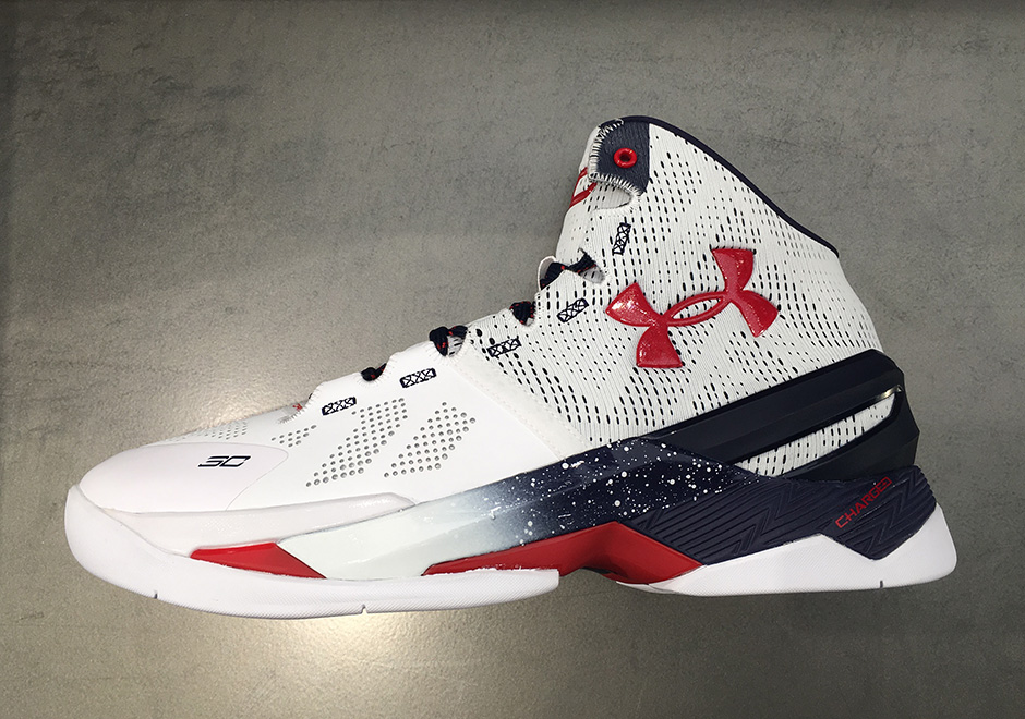 sports shoes 28b94 145c2 Under Armour Curry 2 USA Olympic   SneakerNews.com