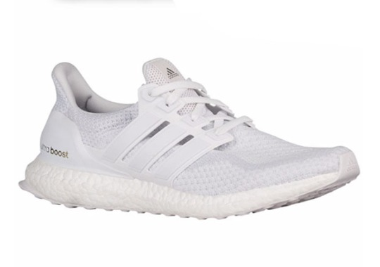 "adidas Ultra Boost ""Triple White"" Available Online"