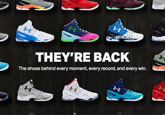 Under Armour Just Restocked Almost Every Curry 2 Colorway