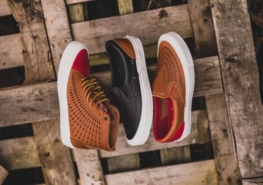 Taka Hayashi Is Back At It Again With The Premium Vans For Summer 2016