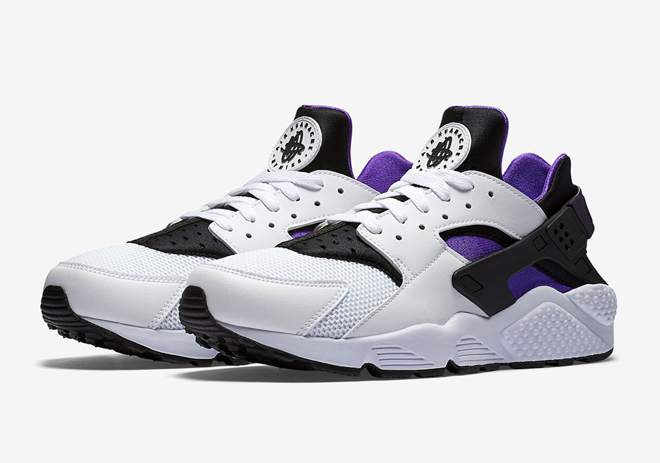 nike air huarache 2016 kids purple