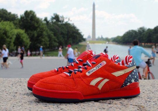 """Salute In Your Own Pair of the MAJOR x Reebok Phase 1 Pro """"Stars and Stripes"""" Now"""