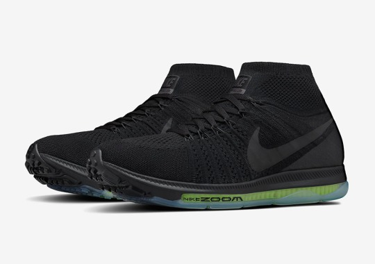 """The Anticipated Nike Zoom All Out Flyknit Runner Will Release in """"Triple Black"""""""