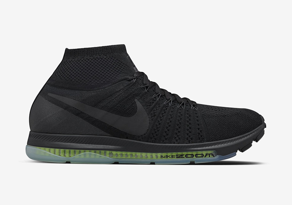 336facd1589fe Nike Zoom All Out Flyknit. Color  Black Black Volt Black