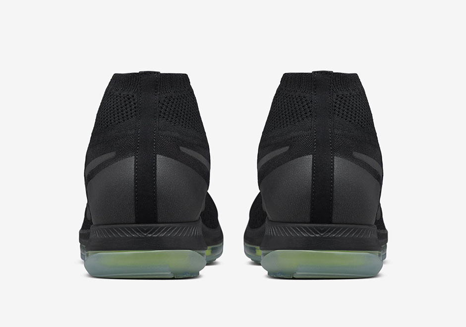 5e9a5723bffdd Nike Zoom All Out Flyknit Black Volt 844134-001