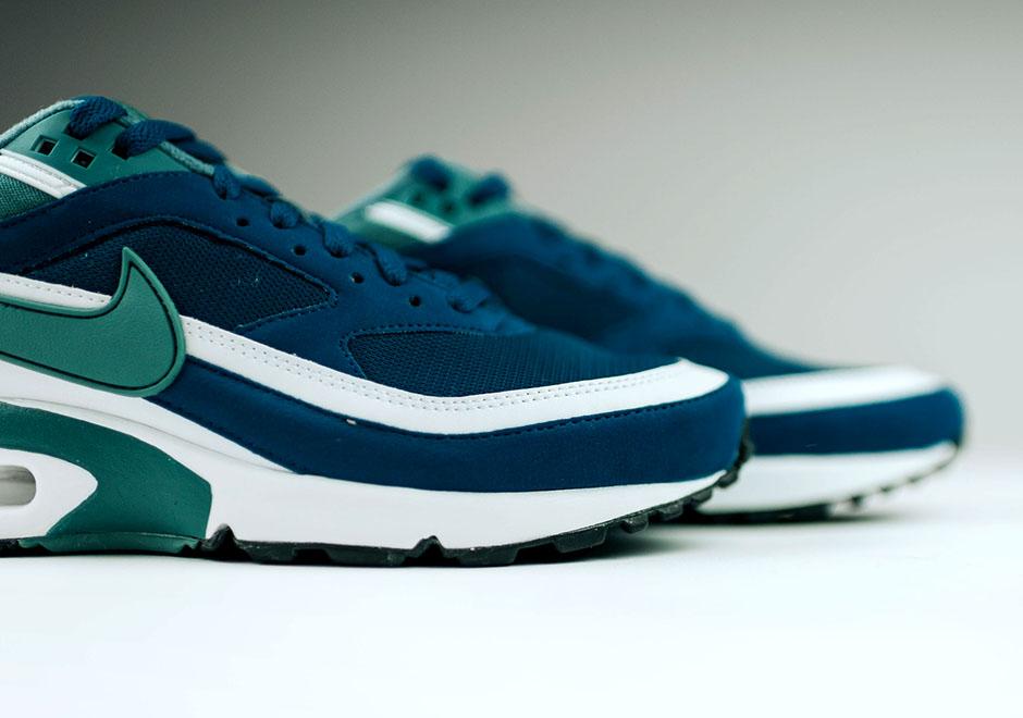 372380f2b2 chic Nike Air Max BW Marina Blue Green Jade Retro - www.lineinthesand.ca