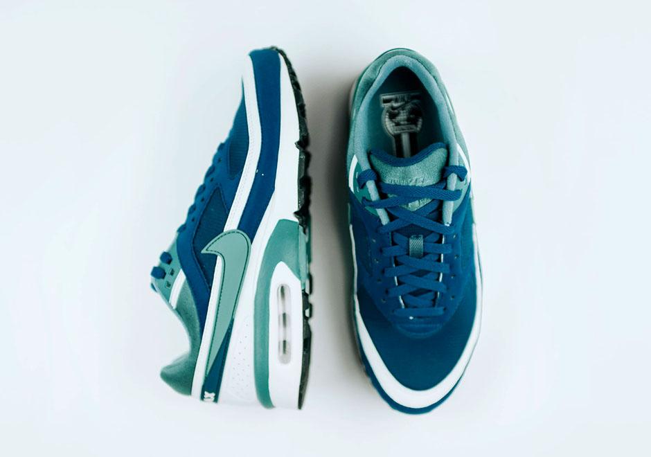 Nike Air Max Verde Bw Marina Azul Verde Max Jade Retro 1d00b3