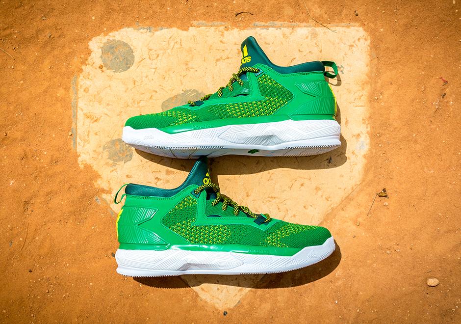 the latest 57a57 63cd1 adidas D Lillard 2 Oakland   SneakerNews.com