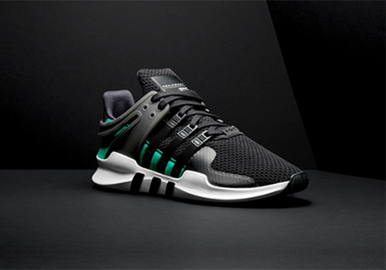 The New adidas EQT ADV Support Will Release in A Classic Green-Accented Color Scheme