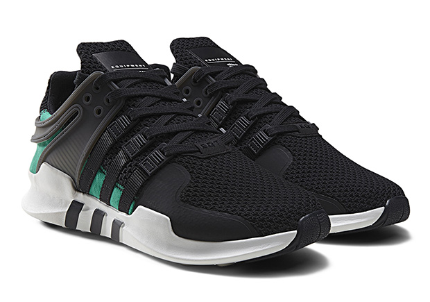 best service 752a0 34e7a ... grey, and EQT green atop a white foam sole. The EQT ADV Support  launches globally at select adidas Originals retailers beginning July 1st.