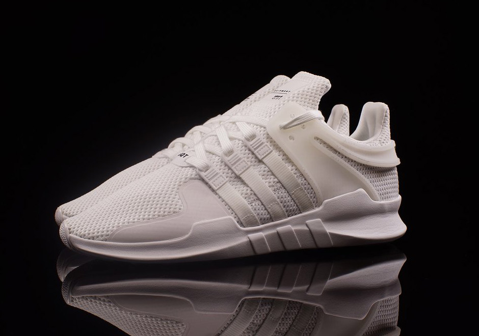 af0f3ac80e25e2 adidas Releases quotTriple Whitequot And quotTriple Blackquot Colorways Of  The New EQT Support ADV 60%