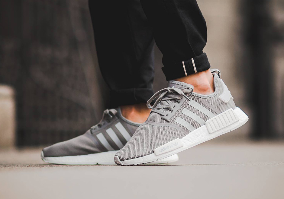 wqhjpm adidas NMD R1 Light Grey - June Release Info | SneakerNews.com