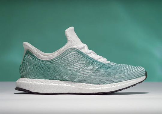 See How The adidas Shoe Made Of Parley Ocean Plastic Is Made