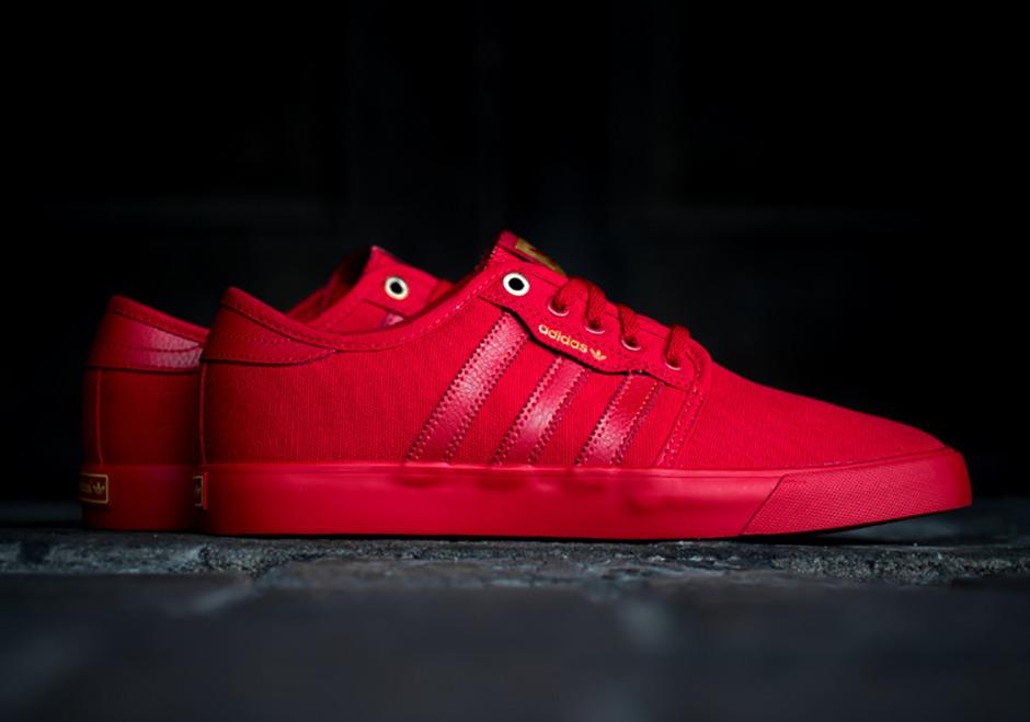 lowest price e1228 0b444 adidas Skateboarding Seeley Red Scarlet   SneakerNews.com