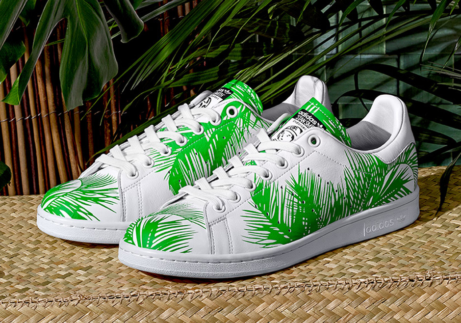 Palm Tree Prints Land on Pharrell's Latest adidas Originals Collaboration